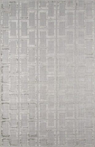 Momeni FRESCFRE-3GRY80B0 INDIAN HAND LOOMED Fresco Collection Grey Finish Rugs