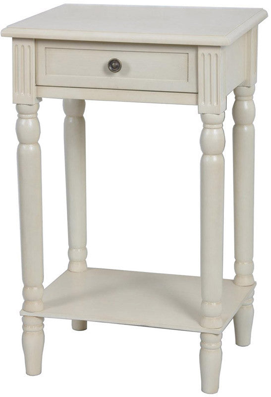 Crestview Collection FZR674IVY Vivid Collection Ivory 17.25 X 13.5 X 25.75