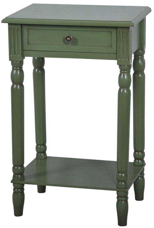 Crestview Collection FZR674SG Vivid Collection Sage Green 17.25 X 13.5 X 25.75
