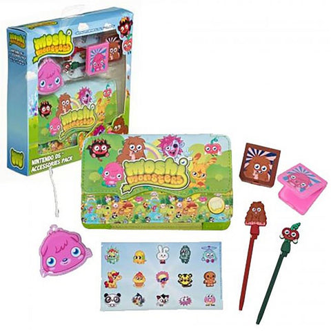 DS Moshi Monsters 7 in 1 Accessory Kit - Girl Pack (GAMO-1PA-GRL1-DS-DB)