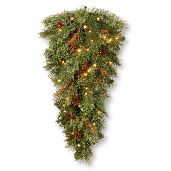 """Does Lowes Sell Christmas Trees: National Tree GN19-300-36T-B1 36"""" Glisteing Pine Teardrop"""