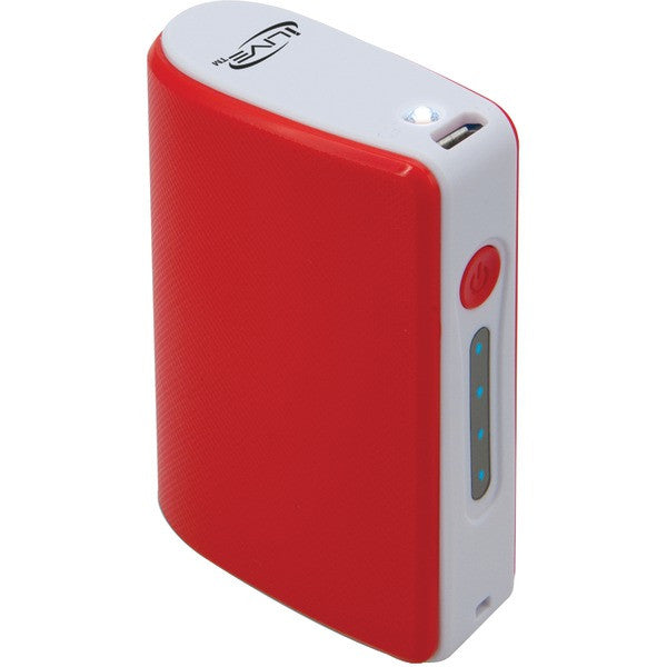 iLIVE IPC405R 4,000mAh Portable Charger (Red)
