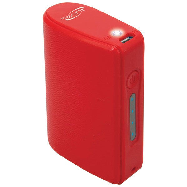 iLIVE IPC525R 5,200mAh Portable Charger (Red)