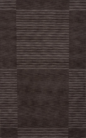 Momeni GRAMEGM-07CAR7696 INDIAN HAND LOOMED Gramercy Collection Carbon Finish Rugs