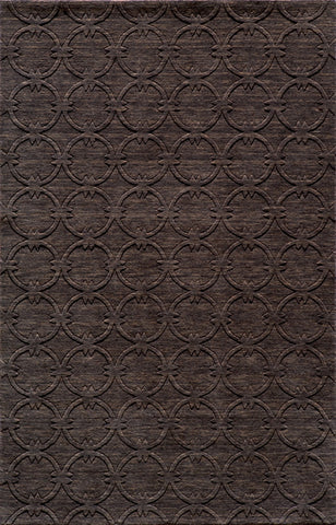 Momeni GRAMEGM-13CHR96D6 INDIAN HAND LOOMED Gramercy Collection Charcoal Finish Rugs