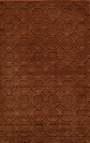 Momeni GRAMEGM-13COP80B0 INDIAN HAND LOOMED Gramercy Collection Copper Finish Rugs