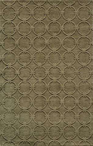 Momeni GRAMEGM-13SAG96D6 INDIAN HAND LOOMED Gramercy Collection Sage Finish Rugs