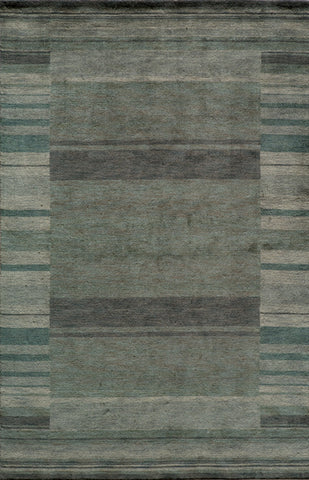 Momeni GRAMEGM-15BLU96D6 INDIAN HAND LOOMED Gramercy Collection Blue Finish Rugs
