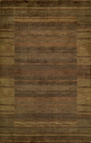 Momeni GRAMEGM-15BRN2680 INDIAN HAND LOOMED Gramercy Collection Brown Finish Runner