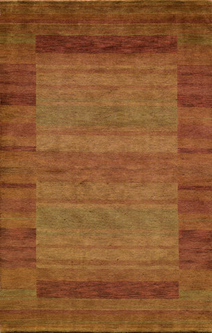 Momeni GRAMEGM-15RST7696 INDIAN HAND LOOMED Gramercy Collection Rust Finish Rugs