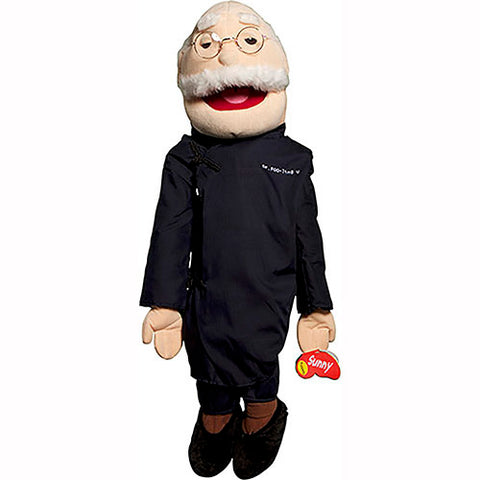 "28"" Asian Grandfather Full Body Puppet GS4110"