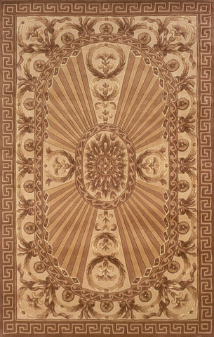 Momeni HARMOHA-15LBN2680 Chinese Hand Tufted Harmony Collection Lt.Brown Finish Runner
