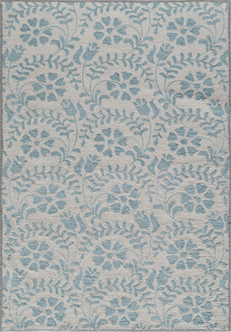 Momeni HAVANHV-10BLU7999 Chinese Hand Tufted Havana Collection Blue Finish Rugs