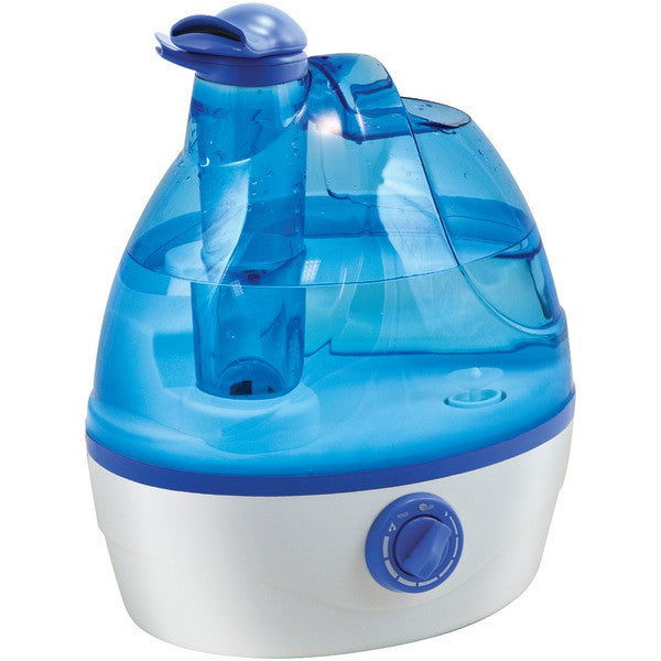 Comfort Zone Czhd24 .6-gallon Ultrasonic Cool Mist Humidifier