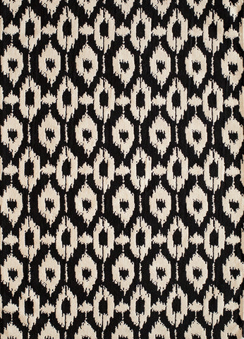 Momeni HEAVEHE-02BLK3050 Chinese Hand Tufted Heavenly Collection Black Finish Rugs