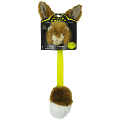 Hyper Pet HYP49216 Hyper Shakes Rabbit Dog Toy