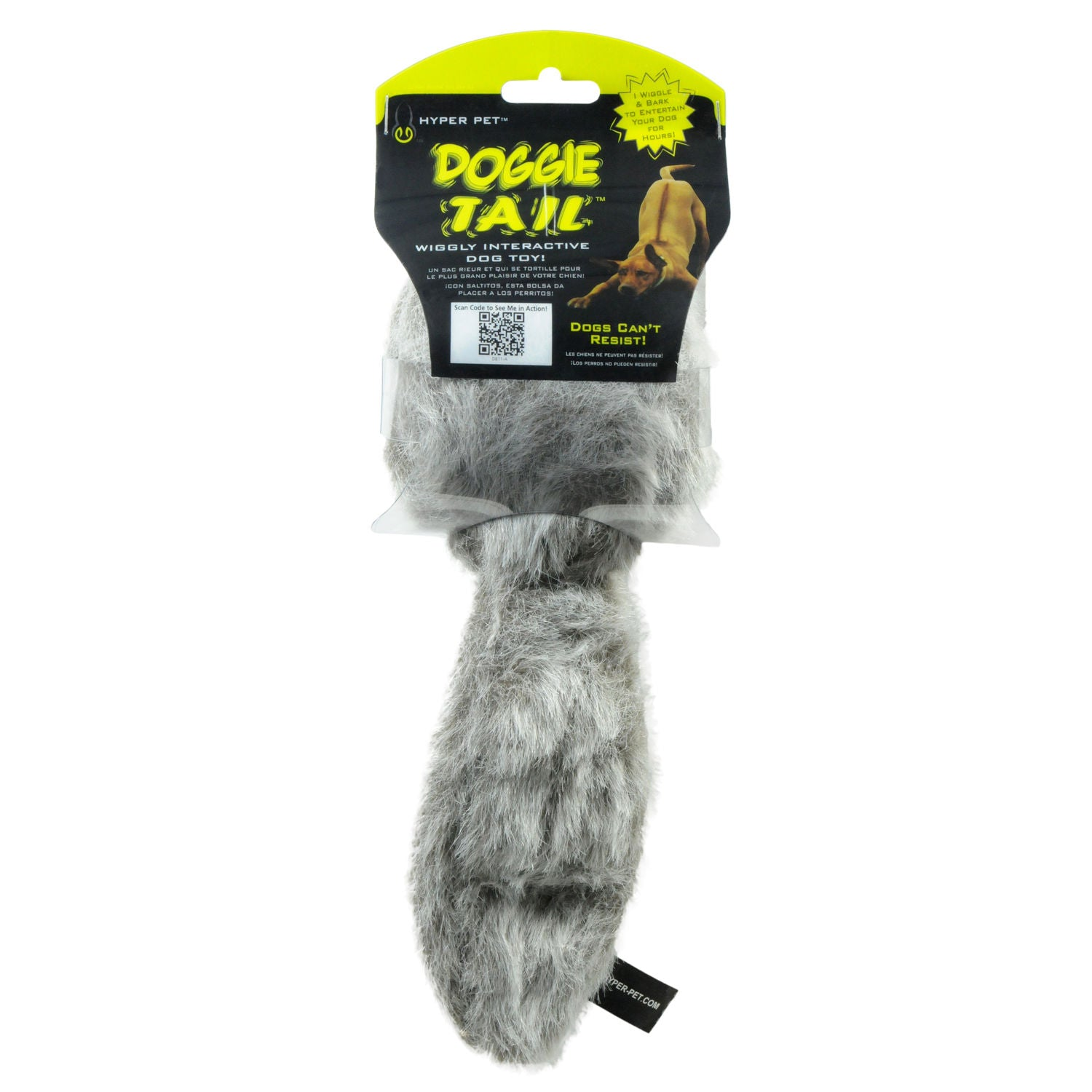 Hyper Pet HYP49484 Doggie Tail Dog Toy