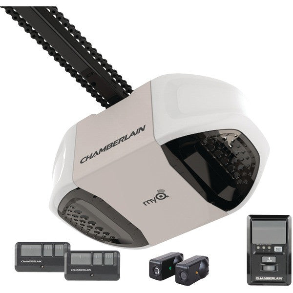 Chamberlain Pd762ev 3/4hp Myq-enabled Chain Drive Garage Door Opener