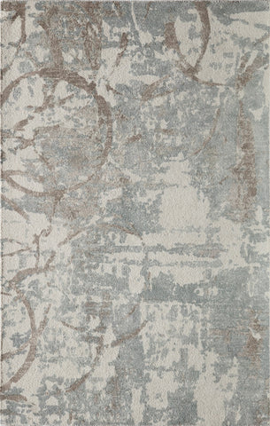 Momeni ILLUSIL-01BGE2030 Indian Hand Tufted Illusions Collection Beige Finish Rugs