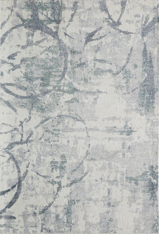 Momeni ILLUSIL-01GRY80B0 Indian Hand Tufted Illusions Collection Grey Finish Rugs