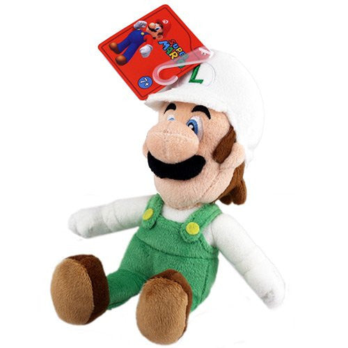 "Nintendo Official Super Mario - Plush - Fire Luigi - 9"" (nintendo) - 819996012504"