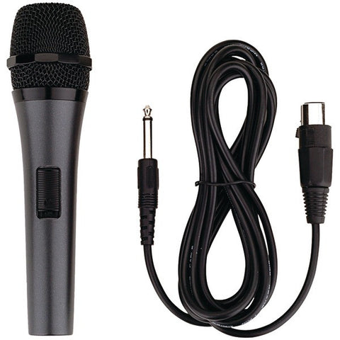 Karaoke USA M189 Professional Dynamic Microphone with Detachable Cord - Peazz.com