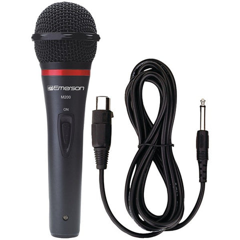 Karaoke USA M200 Professional Dynamic Microphone with Durable Metal Case & Grille - Peazz.com