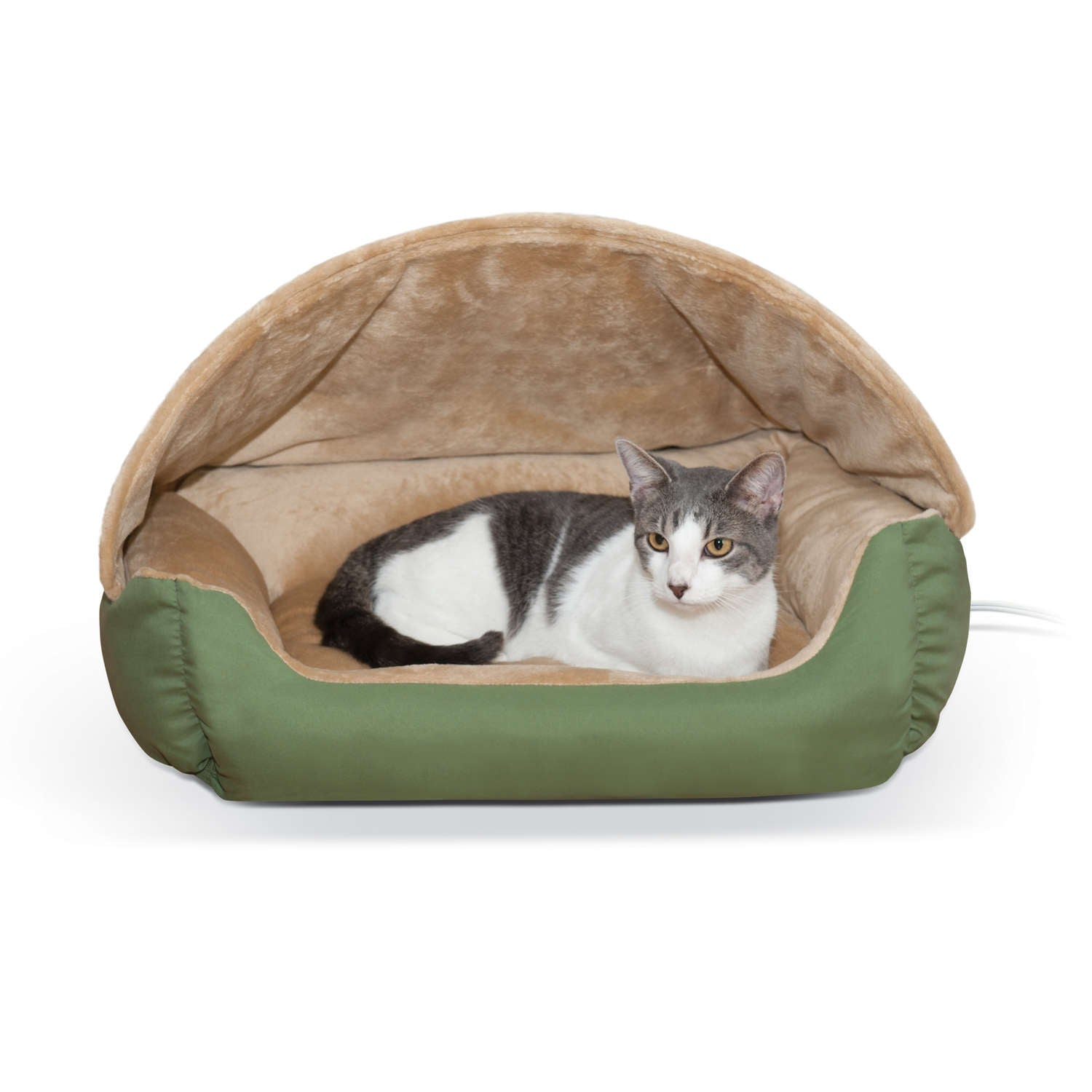K&H Pet Products KH4043 Thermo-Hooded Pet Lounger Bed