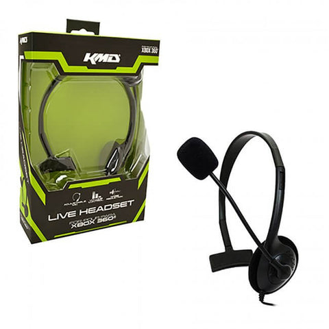 Xbox 360 Wired LiveChat Headset (KMD-360-3706)