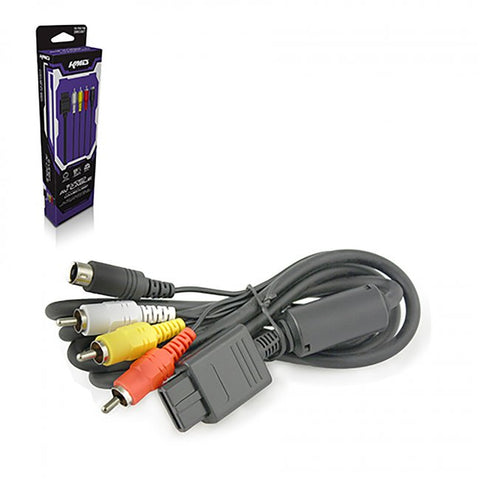 Gamecube S-Video & AV Cable (KMD-GC-6723)