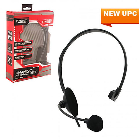 PS3 Wired Chat Headset (KMD-P3-5747)