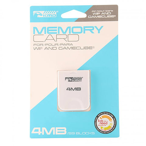 Wii/Gamecube 4MB Memory Card (KMD-W-0363)