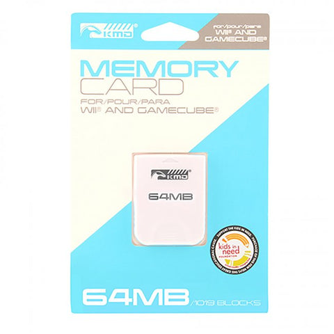 Wii/Gamecube 64MB Memory Card (KMD-W-1415)