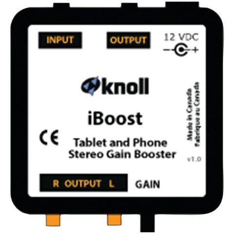 Knoll Systems iBoost iBoost Stereo Gain Booster - Peazz.com