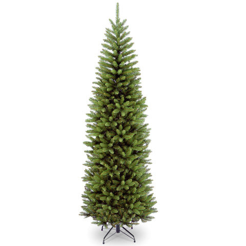 National Tree KW7-500-75 7 1/2' Kingswood Fir Hinged Pencil Tree