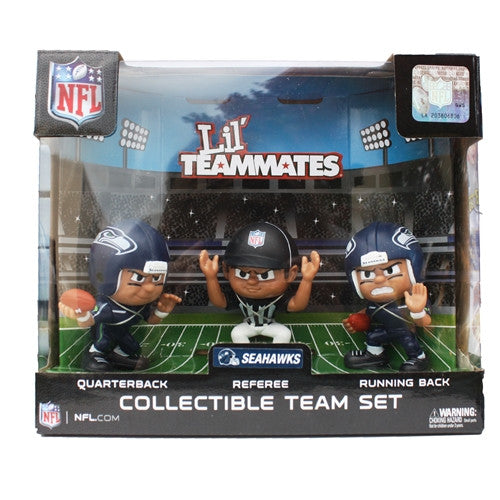 The Party Animal, Inc. LT3PSE Seattle Seahawks Lil' Teammates NFL Team Sets