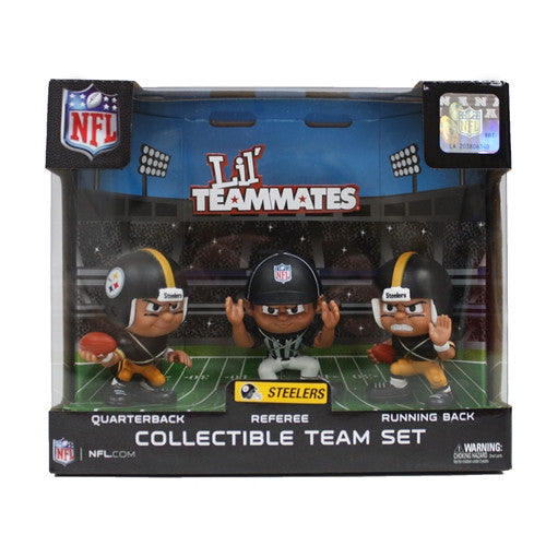 The Party Animal, Inc. LT3PST Pittsburgh Steelers Lil' Teammates NFL Team Sets