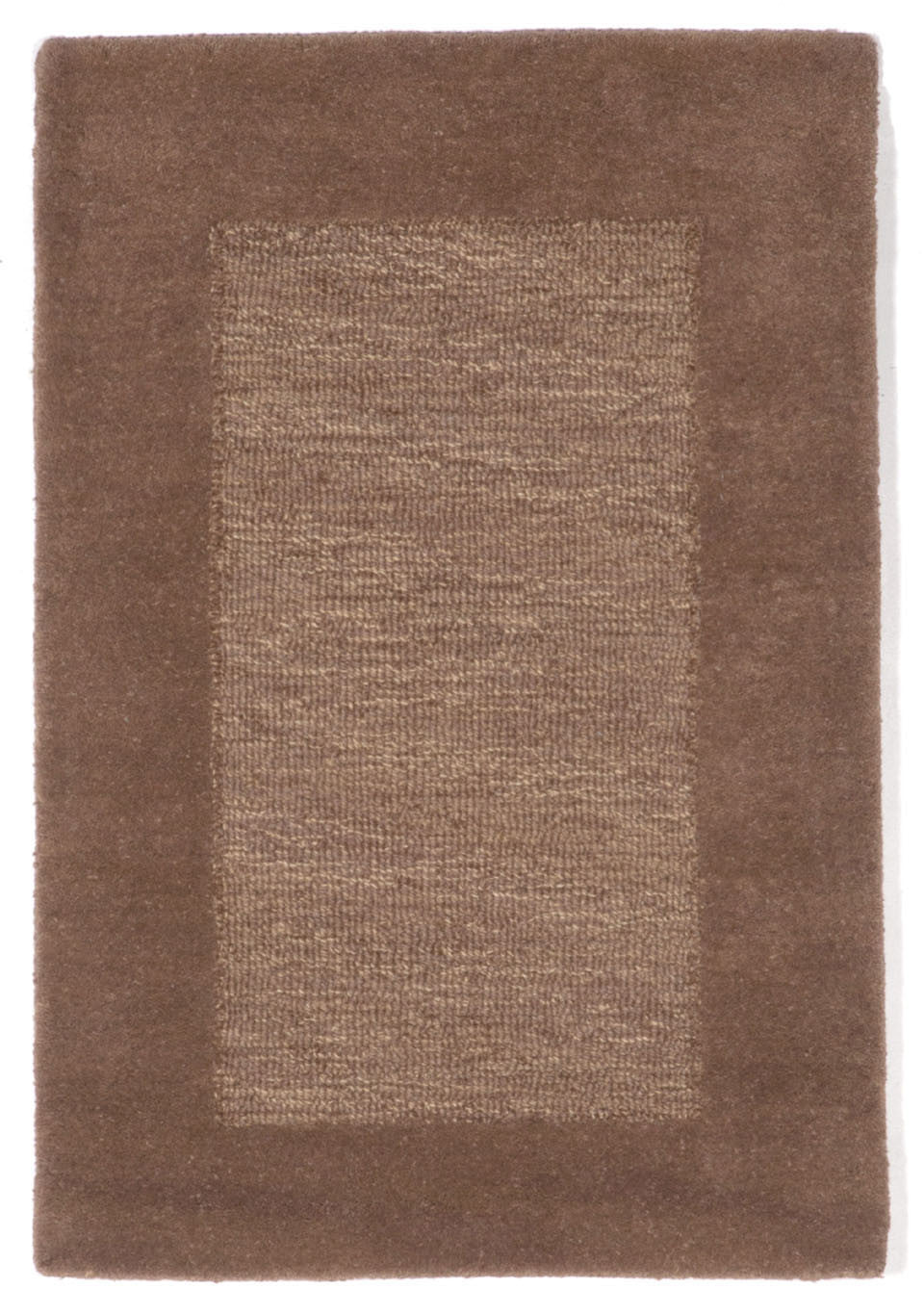 Trans-Ocean Imports MAD23130019 Madrid Collection Brown Finish Indoor Rug