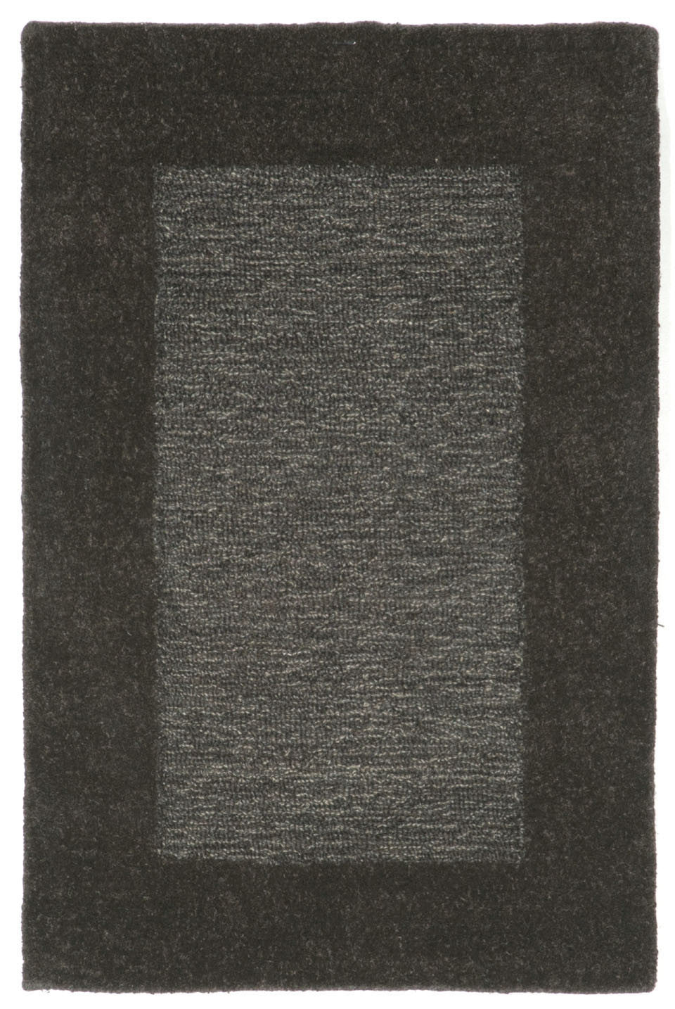 Trans-Ocean Imports MAD23130047 Madrid Collection Grey Finish Indoor Rug
