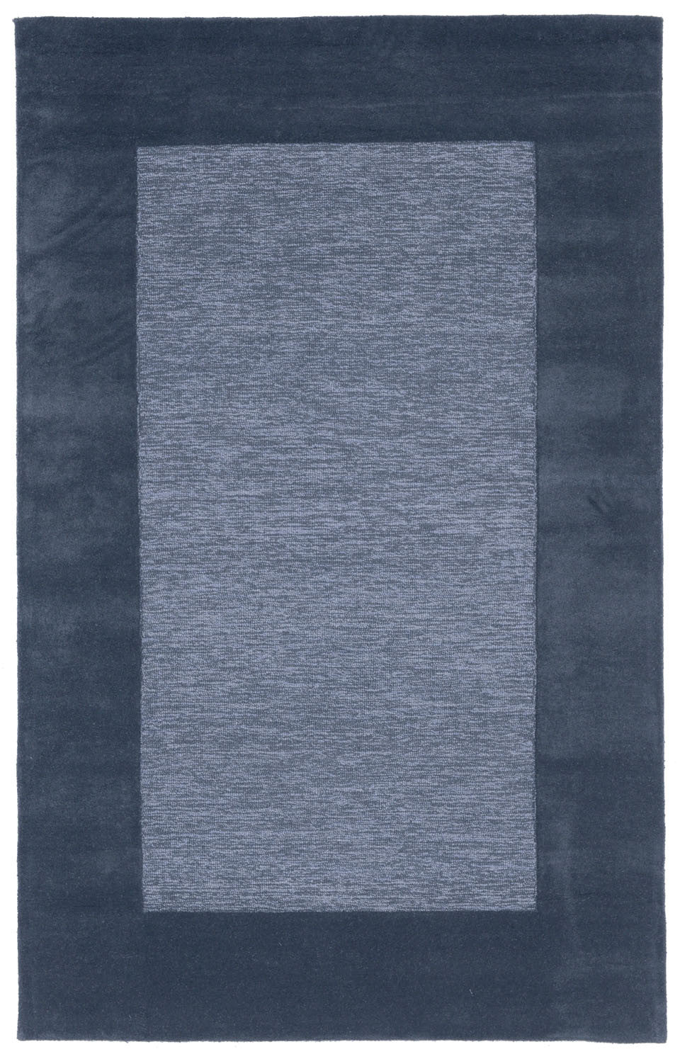 Trans-Ocean Imports MAD46130003 Madrid Collection Blue Finish Indoor Rug