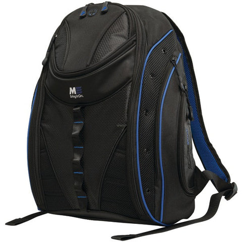 "Mobile Edge MEBPE32 16"" PC/17"" MacBook Express 2.0 Backpack, Royal Blue - Peazz.com"