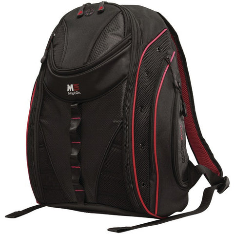 "Mobile Edge MEBPE72 16"" PC/17"" MacBook Express 2.0 Backpack, Red - Peazz.com"
