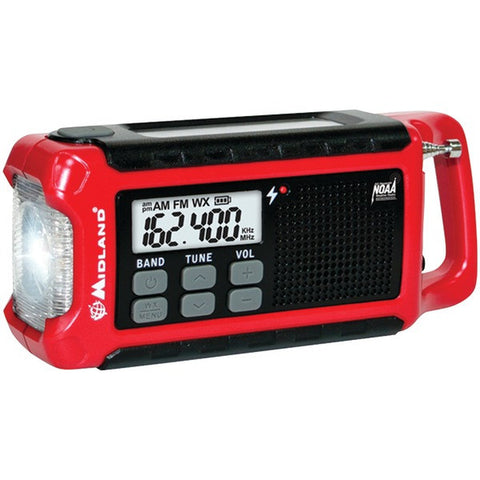 Midland ER210 Emergency Crank Radio - Peazz.com