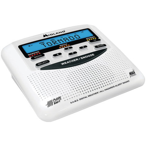 Midland WR120B All-Hazard Weather Alert Radio - Peazz.com