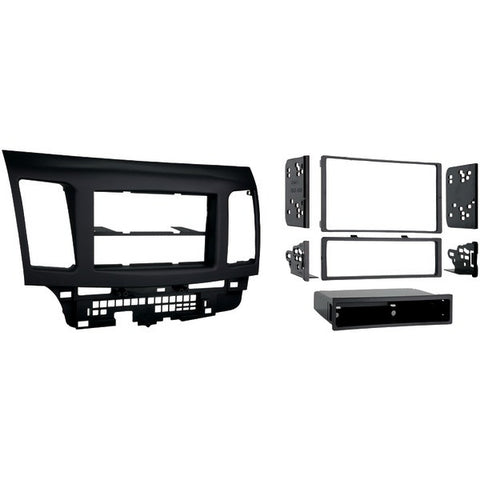 Metra 99-7011 2008 & Up Mitsubishi Lancer Single-DIN/Double-DIN installation Kit - Peazz.com