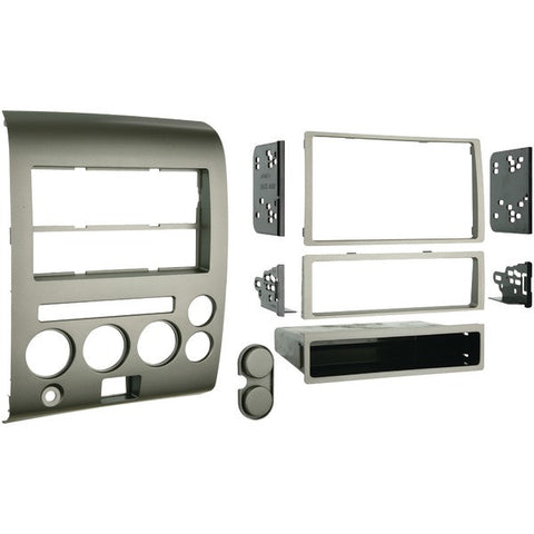 Metra 99-7606 2006–2007 Nissan Titan & Armada Single- or Double-DIN Installation Kit with Dual Zone Climate Display - Peazz.com