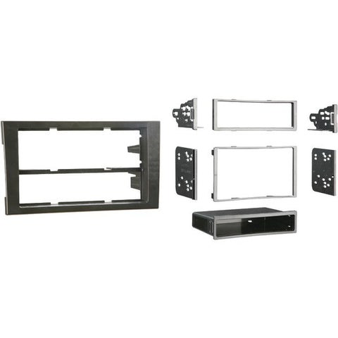 Metra 99-9107B 2002–2008 Audi A4 & S4 Single- or Double-DIN Installation Kit - Peazz.com