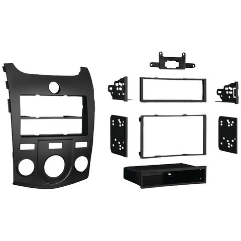 Metra 99-7338B Kia Forte 2010–2013 ISO Double-DIN/ISO-DIN with Pocket/SIngle-DIN with Pocket Installation Kit - Peazz.com