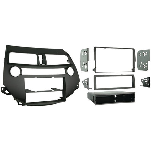 Metra 99-7874 Honda Accord (without Dual A/C) 2008 & Up Double-DIN/ISO-DIN with Pocket/Stacked ISO/Single-DIN with Pocket Installation Kit - Peazz.com
