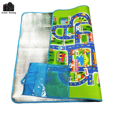 "Merske MK10082 Kids City Traffic Carpet Mat - 62.99"" x 51.18"" - Peazz.com - 1"